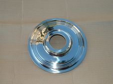 37-3443   W3443,   Wheel trim,  7 inch 1960-67, stainless steel